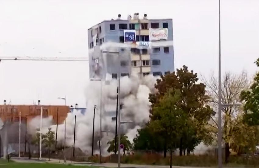 technique de déconstruction à l'explosif par BDS