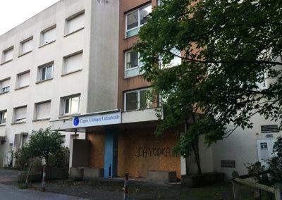 Curage et déconstruction de 3 bâtiments à Bayonne (64)